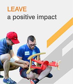 Leave a positive impact