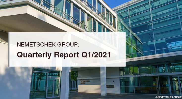 Our strategic partners Nemetschek Group report aflying start to2021's Q1